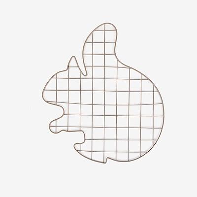 Dailylike 壁面網格吊掛架-01松鼠
