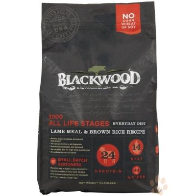 柏萊富blackwood 特調全齡犬配方(羊肉+糙米+雞肉)5磅
