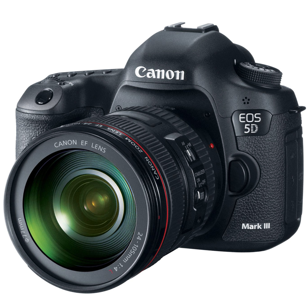 Canon 5D Mark III 24-105mm 變焦鏡組(公司貨)Manfrotto腳架組