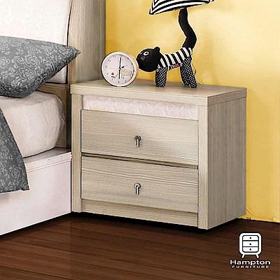 漢妮Hampton謝里爾系列香檳松床頭櫃-55x40x53.5cm