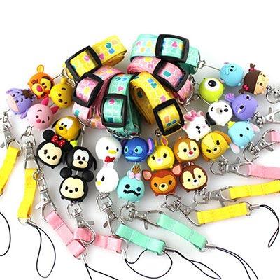Disney TSUM TSUM 手機袋吊繩 識別證帶