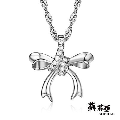 蘇菲亞SOPHIA 鑽石項鍊-愛戀時光鑽鍊