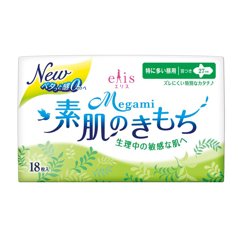 日本大王elis愛麗思清爽零感日用蝶翼27cm(18片/包)
