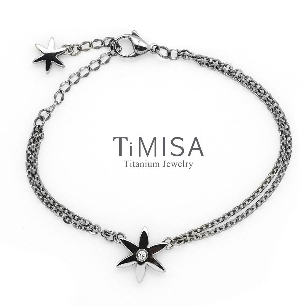 TiMISA 花漾璀燦(3色可選)  純鈦手鍊