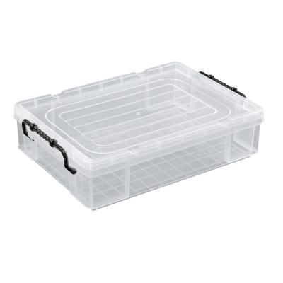 創意達人-耐久型收納整理箱-15L-3入