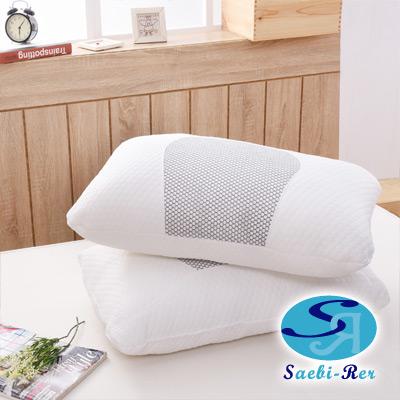 沙比瑞爾Saebi-Rer-蜂巢透氣釋壓枕(2入)