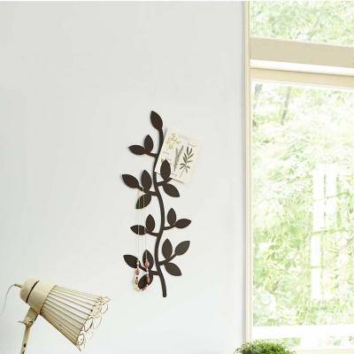 YAMAZAKI 壁飾收納 藤蔓造型-棕