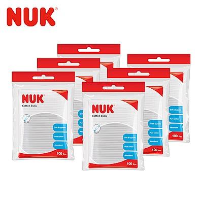 NUK嬰兒用棉花棒100支/包-6包