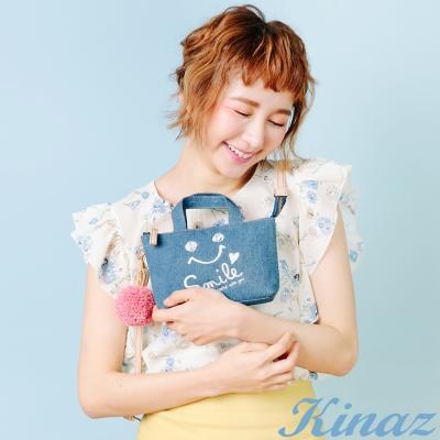 KINAZ-美妙人生兩用斜背包-樂桃桃系列