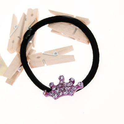 【Aimee Toff】寶氣皇冠造型必備O型束(紫)
