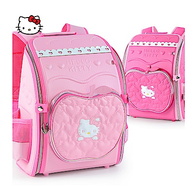 Hello Kitty全開式防水立體護脊書包
