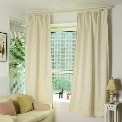 伊美居 - 玫瑰防光雙層半腰窗簾 130x165cm(2件)