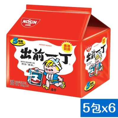 日清 出前一丁麻油味速食麵(100gx30入)