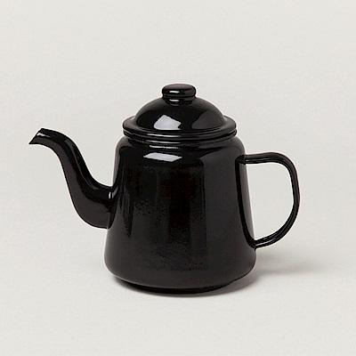 Falcon 英國 獵鷹琺瑯 下午茶壺 黑