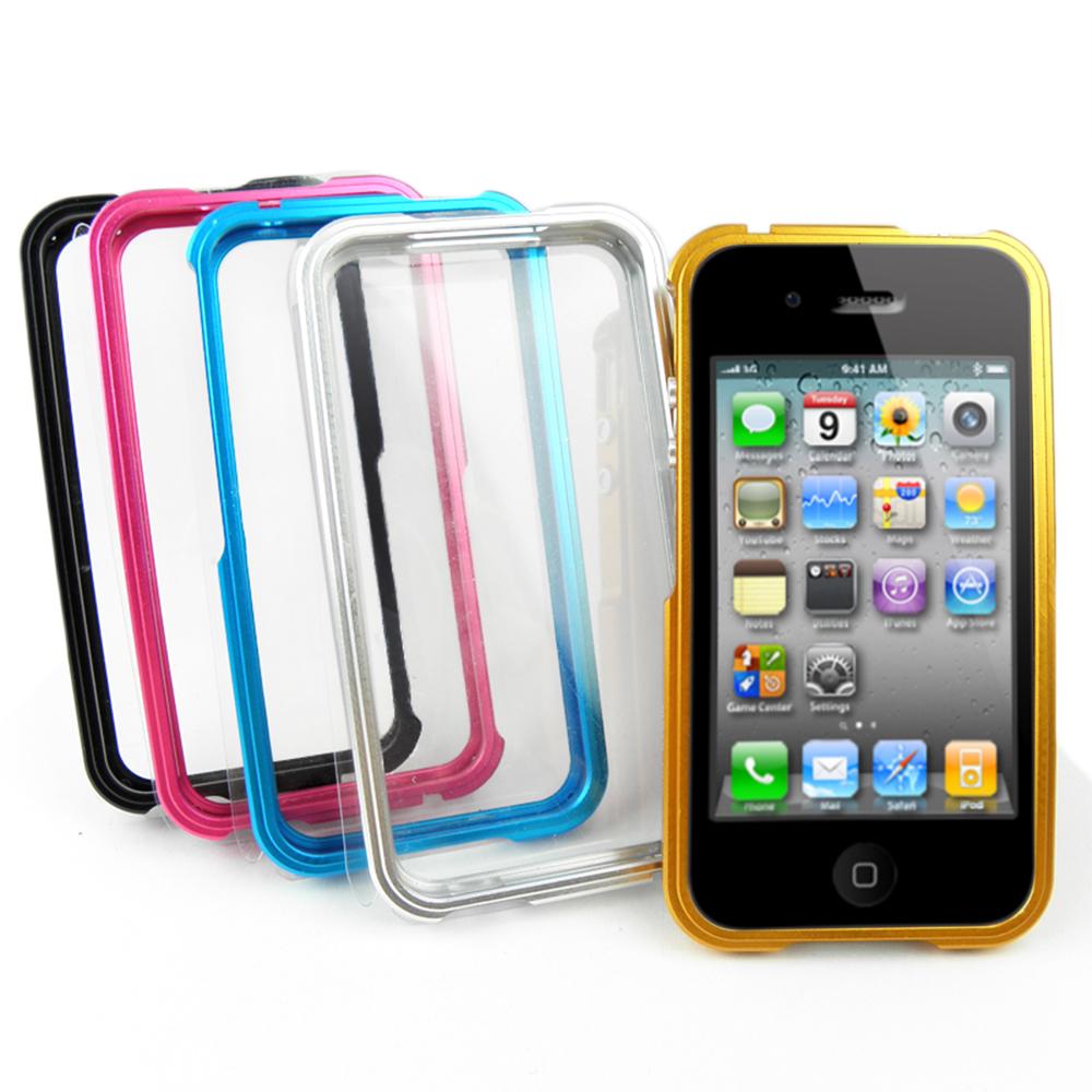 MATE 絕色鋁合金 iPhone4/4s 手機邊框
