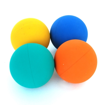 PET LOHAS《樂活多彩》超彈力橡膠球(4入組)