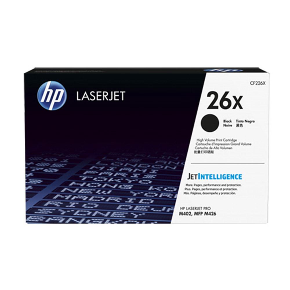 HP CF226X 原廠黑色碳粉匣高容量26X