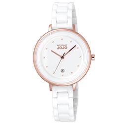 NATURALLY JOJO 定律週期陶瓷時尚腕錶-JO96926-80R-33mm