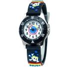 Jacques Farel Kids 海洋冒險潛水鏡禮盒手錶組-白X黑/29mm