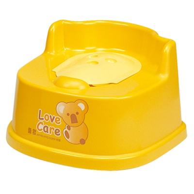 喜多幼兒型馬桶座-黃色