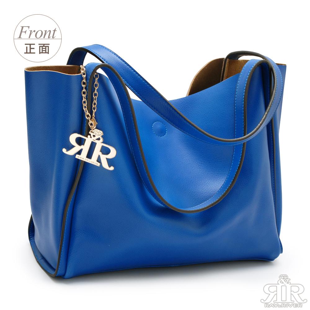 【2R】芬芳牛皮Paris慵懶巴黎包(品味湛藍)