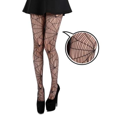 摩達客 英國進口義大利製Pamela Mann蜘蛛網設計彈性網襪褲襪