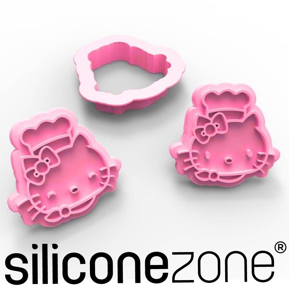 Siliconezone 施理康Hello Kitty餅乾模
