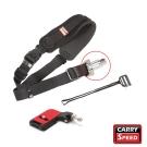 CARRY SPEED FS-2 Black 黑色相機背帶(附F2相機座盤)