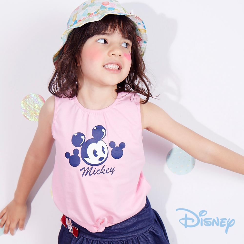Disney米奇俏皮前綁背心 粉紅