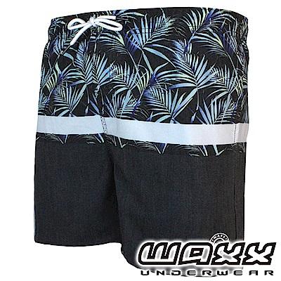 WAXX 熱浪系列-野蠻遊戲快乾型男海灘褲(15英吋)