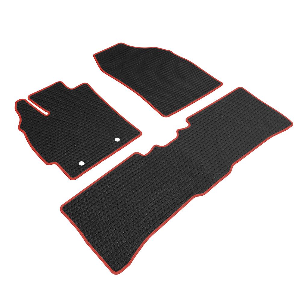 神爪 卡固平面專用型黑踏墊 彩色包邊 F款