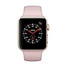 [無卡分期-12期]Apple Watch Series 3行動網路42mm金鋁殼/粉錶帶