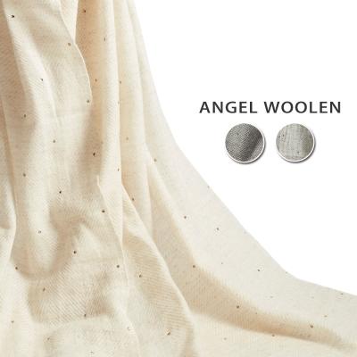 Angel-Woolen-永恆之約Pashmina印度手工水鑽披肩-圍巾-共三色