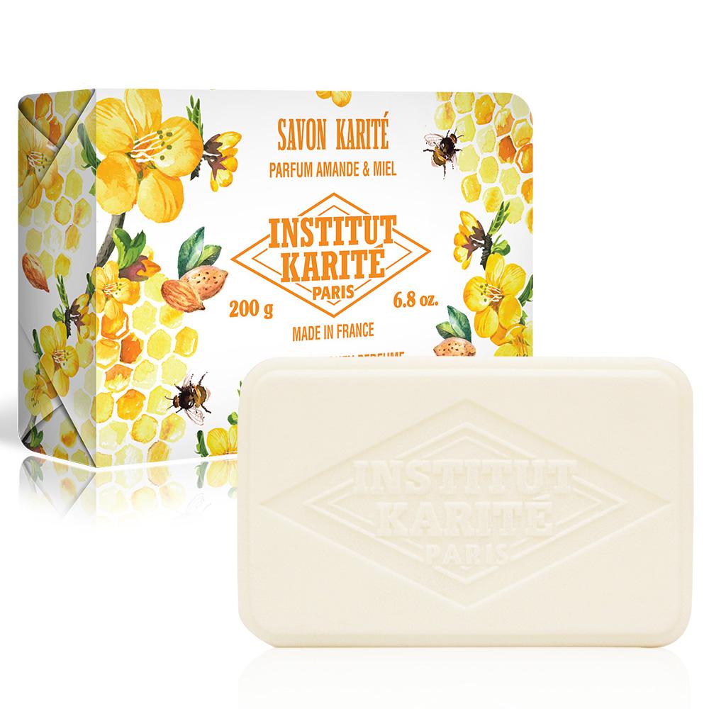 Institut Karite Paris巴黎乳油木 蜂蜜杏仁花園香氛手工皂200g