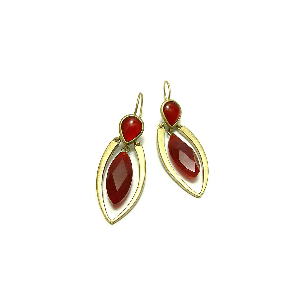 KENNETH COLE 豔紅魅力時尚耳環