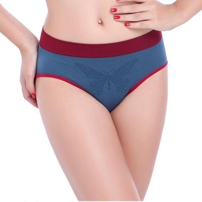 Keep Chic孕婦裝-藍色無縫一片式三角內褲