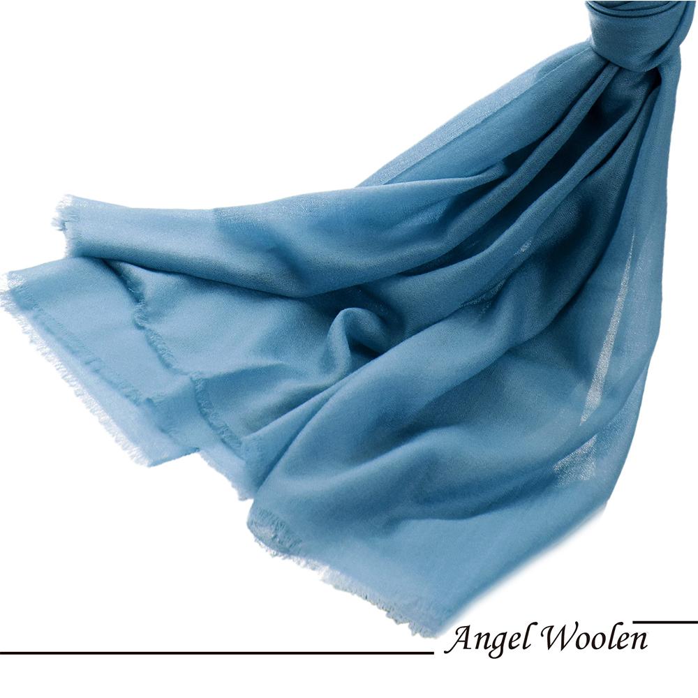 【Angel Woolen】純潔心靈 鑽石紋羊絨披肩