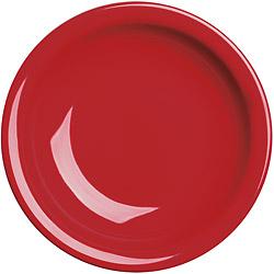 EXCELSA Fashion陶製深餐盤(紅22cm)
