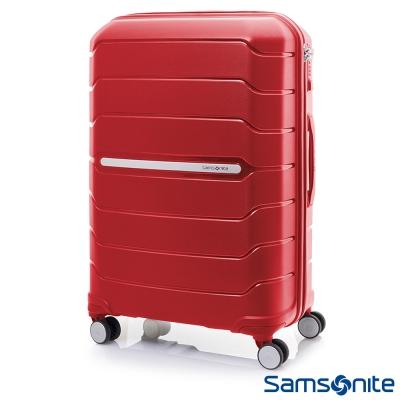 Samsonite新秀麗 32吋Octolite PP極輕量時尚雙輪TSA硬殼行李箱(紅)