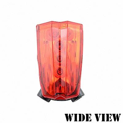 【WIDE VIEW】自行車鐳射車道尾燈(NZL-SW)-快