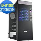 技嘉B360平台[獵豹戰狂]i3四核GTX1050Ti獨顯電玩機