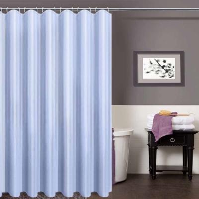 LISAN特級加厚防水浴簾A-013經典不凡 品味超凡-藍