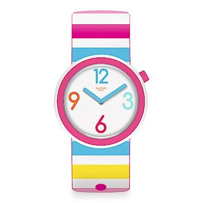 Swatch 情迷地中海  RIMINIPOP 彩虹國度手錶
