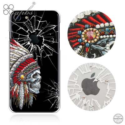 apbs iPhone8/7 4.7吋施華洛世奇彩鑽手機殼-酋長