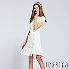 JESSICA - 絕美時尚蕾絲洋裝(白)