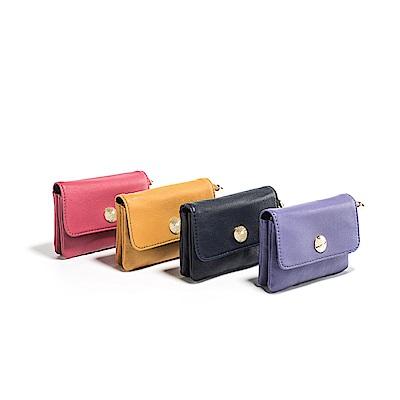 PEPPER`S  Olivia 羊皮零錢鑰匙包