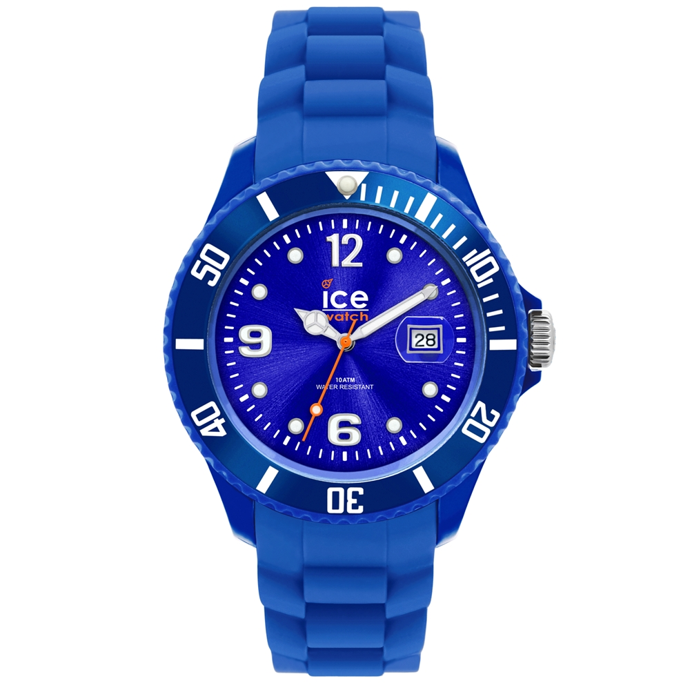 Ice-Watch 永恆系列 精工炫麗手錶-藍/38mm