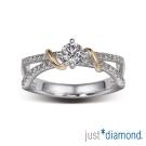 Just Diamond 真女人系列雙色金鑽石戒指-Elegant