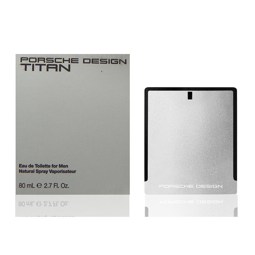 Porsche Design Titan 鈦元素淡香水 80ml Tester 包裝