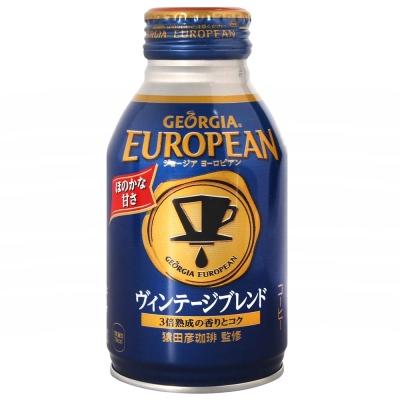 Coca-Cola 歐風咖啡飲料-濃郁(270ml)